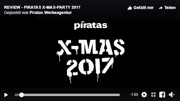 Piratas Weihnatsfeier 2017