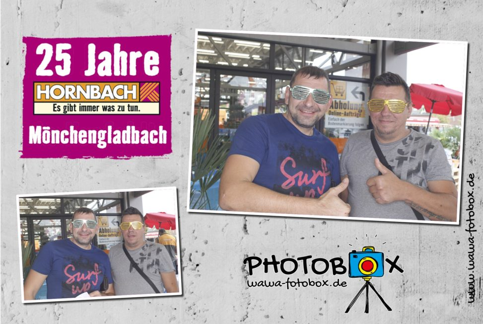 25 Jahre Hornbach